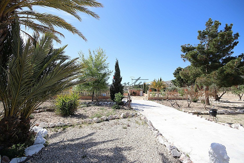 Detached Country House with stables and unfinished pool, between Sax and Elda in Alicante Property