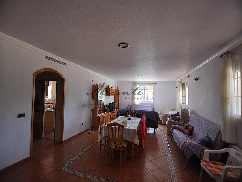 4 bed Large Family House with 4 bed guest house in Alicante Property
