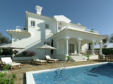 Beautiful new villa for sale in Pinoso